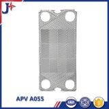 Sostituire il piatto di Apv A055 per lo scambiatore di calore del piatto con Ss304/Ss316L fatto in Cina