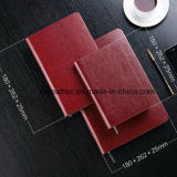 Zipper Exercise Book Leather Diary for Office Supply