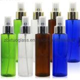 Forme carrée de la verrerie d'alimentation de la bouteille en verre Golden pulvérisateur Silver pulvérisateur 50 Bouchon de bouteille de parfum