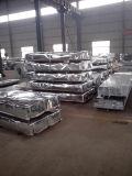 África/placa de capota de ferro galvanizado Aluzinc folha de metal corrugado