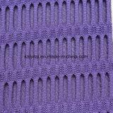 Warp tejidos de punto tricot 100% poliéster colorido tejido de malla de aire en 3D para zapatos