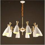 De moderne Lamp van de Kroonluchter van het Ijzer van het Ontwerp van Italië Nieuwe Creatieve voor Zaal met Ce