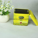 Zinn-Kasten-Fabrik-Herstellung Recatngular Tee-Geschenk-verpackenzinn-Kasten-Sets