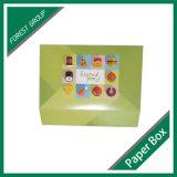 caixa de Coardboard da placa 400GSM Ivory para o empacotamento dos doces