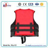 Chaleco salvavidas popular del parque del agua del color rojo del estilo para los niños