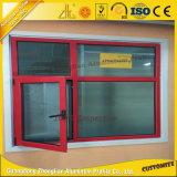 Fabricante de aluminio ventana deslizante con perfil de aluminio