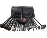 Los cepillos de encargo profesionales del maquillaje de la insignia 24PCS componen