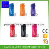 28oz garrafas da peneira do agitador de plástico de garrafas com bola de metal