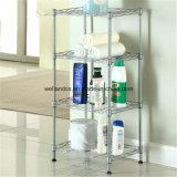 Estante ajustable de alta calidad de la luz de los niveles 5 Deber estanterías estantería metálica para el cuarto de baño