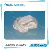 Alginato dolorido del calcio del vendaje para heridas de Huizhou Foryou del alginato 2g de la base de la presión no adherente avanzada médica de los dolores que viste la hoja