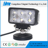 indicatore luminoso del lavoro di 12V 18W LED con 6 chip di PCS LED