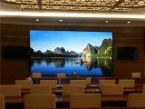 pantalla fundida a troquel obra clásica de pH5mm LED para la conferencia