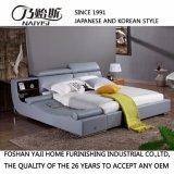 Кровать горячего сбывания мягкая удобная кожаный (FB8155)