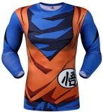 Jersey des Mannes Quick-Dry komprimierende athletische Feuchtigkeit-Wicking Komprimierung-Haut-Sportkleidung