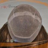 Las mujeres de la manera de la frontera de la PU ponen en cortocircuito la peluca (PPG-l-0341)