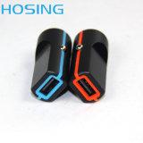 Заряжатель телефона заряжателя автомобиля USB портативный с 5V 1A/2.1A