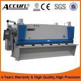 CNC Hydraulische Scherpe Machine voor de Plaat van het Staal