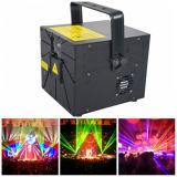 6000MW RGB Machine van de Laser van de Partij van de Laser van de Animatie Lichte