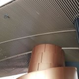 Dekorative Strangpresßling-Leitblech-Aluminiumdecke für die im Freienanwendung