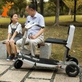 Rad 3, das elektrischen Roller mit Sitz für Behinderte faltet
