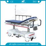 AG-HS006 ISO 세륨에 의하여 자격이 되는 유압 병원 의학 들것 차원