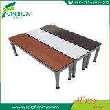 学校のための上の販売の長方形の無地の防水テーブルの上