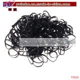 Bandas del pelo de los bebés de plástico Decoración mejor regalo de negocios de pelo (P3021)