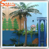 Im Freien Dekoration-Plastikbaum-künstliche Kokosnuss-Palme