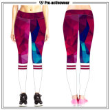 Ghette adatte di Dri di forma fisica delle donne dell'OEM, pantaloni di yoga di ginnastica di allenamento