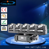 6 endlose 60W LED bewegliche Hauptträger-Lichter der Kopf-