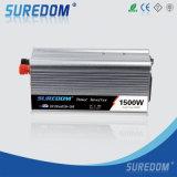 Fabriek Suredom 1500W gelijkstroom aan AC de ZonneOmschakelaar van de Macht van de Auto