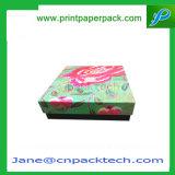 Cadre de papier de fantaisie fait sur commande d'entreposage en cadre de gâteau de boîte-cadeau