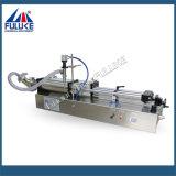 Fuluke Fgj semi-automática de doble cabezal neumático líquido horizontal Máquinas de llenado