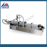 Fuluke Fgjの半自動二重ヘッド空気の水平の液体の充填機
