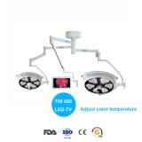 의료 기기 천장 점화 LED Shadowless 운영 빛 (700700 LED)