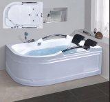 BALNEARIO de la bañera del masaje de la esquina del sector de 1800m m con el Ce RoHS para 2 personas (AT-0741)