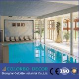 Comitato di parete acustico della fibra di legno leggera per la piscina