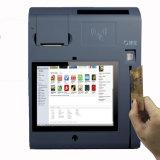 Машина компенсации кредитной карточки читателя магнитной карточки POS касания
