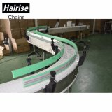 Настил Hairise Переносной контейнер для транспортировки поддонов изгиба продовольственной промышленности цепи транспортера