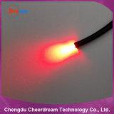 42照明のためのコアPMMAプラスチック0.75mm終わりの白熱光ファイバケーブル