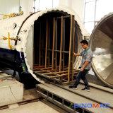 reattore approvato di vetro laminato di sicurezza di 2000X45000mm ASME (SN-BGF2045)