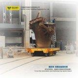 Carro pesado dirigido carril de la transferencia del desecho del vehículo del cargamento de 60 toneladas