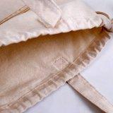 Haut de page personnalisé en toile de coton organique Sac avec lacet de serrage