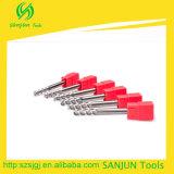 Резец торцевой фрезы карбида для инструментов CNC алюминиевой зуборезной фрезы HRC55 филируя