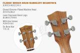 Ukulele согласия тела Koa электрический с гитарой Built-in тюнера электрической