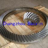 OEM 42CrMo experto de la forja de alta calidad engranaje cónico espiral