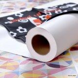 45g, 55g, 60g, 70g, 90, roulis à grande vitesse de papier de transfert de sublimation de l'impression 100GSM pour le textile de sublimation