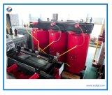 Deux transformateur à haute tension sec de enroulement de 3 phases petit