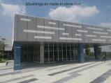 Голодают собранные полуфабрикат здания стальной структуры для торгового центра