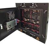 Indicador de diodo emissor de luz magro e de pouco peso super do gabinete (cor P4 cheia interna)